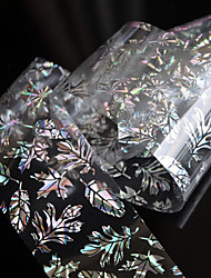 cheap -1 pcs Nail Jewelry nail art Manicure Pedicure Flower / Fashion Daily / PVC(PolyVinyl Chloride)