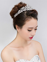 cheap -Rhinestone / Alloy Tiaras with 1 Wedding / Special Occasion Headpiece