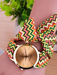 cheap -Women's Ladies Bracelet Watch Quartz Multi-Colored Casual Watch Analog Charm Fashion - Fuchsia Coffee Green One Year Battery Life / Tianqiu 377