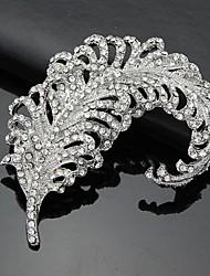 abordables -Femme Argent Broche 3D Zirconium Argent Broche Bijoux Blanc Pour Business / Cérémonie / Mariage