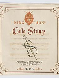 cheap -115 KING LION Cello Strings
