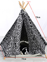 cheap -Fashion Comfortable Mixed Material Portable House For Dogs / Cats