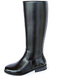 cheap -Men's Fashion Boots Synthetic Fall / Winter Casual Boots Knee High Boots Black / Party & Evening / Party & Evening