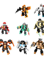cheap -8piece/lot in 1 Robot Blocks Model Building Ghost Action Biochemical Times Wars Minifigures Original