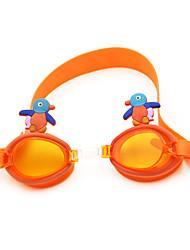 cheap -Swimming Goggles Waterproof Anti-Fog Silica Gel PC Greens Pink Blues Green Pink Blue