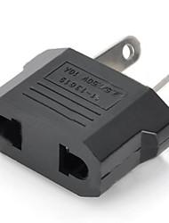 abordables -nous / EU Plug compacter australie plug Voyage adaptateur - noir