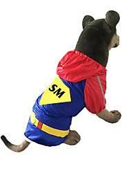 cheap -Dog Rain Coat Cartoon Waterproof Fashion Outdoor Dog Clothes Costume Cotton XXL XXXL XXXXL XXXXXL