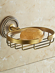 cheap -Brown Soap Dish , Traditional Antique Copper Wall Mounted