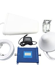 Недорогие -3g мобильный телефон усилитель устанавливает усилитель сигнала мобильного телефона Репитер сигнала 70dbi усиления WCDMA 2100 МГц с