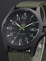 cheap -Men's Military Watch Wrist Watch Analog Quartz Aristo / One Year / Stainless Steel