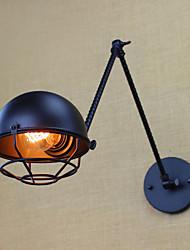 cheap -Rustic / Lodge Wall Lamps & Sconces Metal Wall Light 220V / 110V 40W / E26 / E27