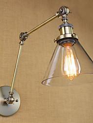 cheap -Rustic / Lodge Swing Arm Lights Metal Wall Light 110V / 110-120V / 220-240V 40W