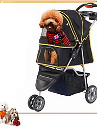 cheap -Mixed Material/ Portable/Safe Stroller Cart Car Carrier For Dogs / Cats