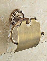 cheap -Brown Toilet Paper Holder , Traditional Antique Copper Wall Mounted