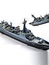 cheap -Warship 3D Puzzle Wooden Puzzle Paper Model Wooden Model Paper Kid's Adults' Toy Gift