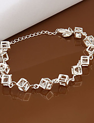 cheap -Chain Bracelet Party Brass Bracelet Jewelry Silver For