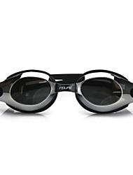 Недорогие -плавательные очки Водонепроницаемость Противо-туманное покрытие Регулируемый размер Поляризованные линзы УФ-защита Зеркальный Для Взрослые силикагель Поликарбонат белый серый черный