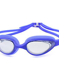 cheap -Swimming Goggles Anti-Fog Prescription Mirrored Silica Gel PC Whites Blacks Blues Pink Black Blue