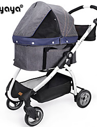cheap -IBIYAYA® Mixed Material/ Portable/Safe Stroller Cart Car Carrier For Dogs / Cats