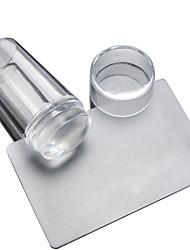 cheap -manicure-transparent-cover-seal-with-2-piece-of-transparent-transparent-silicone-seal-handle-printing-head-head-scraper