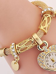 cheap -Women's Ladies Luxury Watches Bracelet Watch Analog Vintage Style Charm Imitation Diamond Beautiful and elegant / One Year