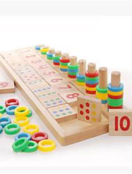 Недорогие -Пазлы Игрушки для обучения математике Обучающая игрушка Экологичные Веселье Классика Детские Игрушки Подарок