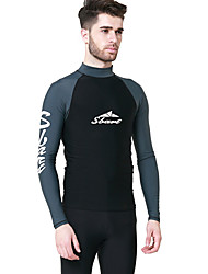 cheap -SBART Men's SPF50 UV Sun Protection Quick Dry Long Sleeve Swimming Diving Surfing Spring Summer Fall