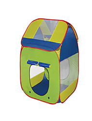 cheap -Play Tent & Tunnel Playhouse Tent Pretend Play Beach Theme Foldable Convenient Polyester Indoor Outdoor Spring Summer Fall Unisex Boys' Girls' Pop Up Indoor/Outdoor Playhouse for Boys and Girls