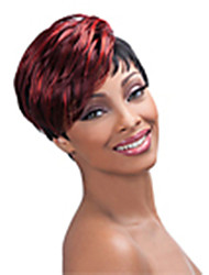 cheap -Synthetic Wig Straight Straight Wig Short Red Synthetic Hair 6 inch Women's Red hairjoy