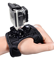 cheap -Wrist Strap Hand Straps Adjustable Convenient 1 pcs For Action Camera Gopro 5 Gopro 4 Gopro 4 Silver Gopro 4 Session Gopro 4 Black Plastic Nylon / Gopro 1 / Gopro 2 / Gopro 3 / Gopro 3+ / Gopro 3