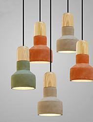 cheap -1-Light 12(4.72'') Mini Style / Bulb Included Pendant Light Ceramic Ceramic Mini Others Retro 110-120V / 220-240V