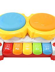 Недорогие -Барабанная установка Игрушки с подсветкой Барабанная установка Осветительные приборы пластик для Детские