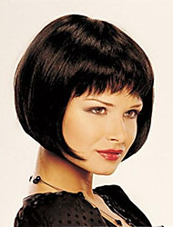cheap -Synthetic Wig Straight Style Bob Wig Dark Brown Synthetic Hair Women's Wig Short StrongBeauty