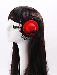 cheap -Women's / Flower Girl's Lace /  Rhinestone / Flannelette Headpiece-Wedding / Special Occasion Fascinators 1 Piece