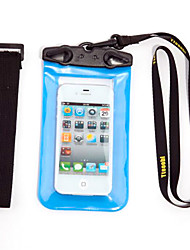 Недорогие -Сухие боксы Водонепроницаемые сумки Сотовый телефон Защита от влаги Подводное плавание и снорклинг PVC Красный Черный