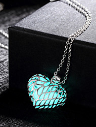 cheap -Women's Pendant Necklace Magic Alloy Green Blue Light Blue Necklace Jewelry For Wedding Party Daily Casual Sports