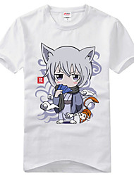 cheap -Inspired by Kamisama Kiss Tomoe Anime Cosplay Costumes Japanese Cosplay T-shirt Print Short Sleeve T-shirt For Men's / Women's