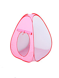 cheap -Play Tent & Tunnel Ball Pool Playhouse Tent Beach Theme Princess Foldable Cartoon Convenient Polyester Indoor Outdoor Spring Summer Fall Pop Up Indoor/Outdoor Playhouse for Boys and Girls