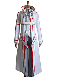 cheap -Inspired by SAO Alicization Kirito Anime Cosplay Costumes Japanese Cosplay Suits Patchwork Long Sleeve Coat Pants Gloves For Men's Women's / Cloak / Belt / Strap / Belt / Cloak
