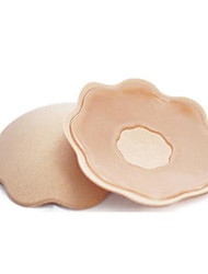 abordables -1 paire de femmes sexy mamelon réutilisation couverture silicone poitrine lait pâte autocollants invisible soutien-gorge poitrine pâte auto-adhésif mamelon couvre