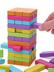 cheap -Board Game Stacking Tumbling Tower Jenga Wood Professional Fun Balance Kid's Adults' Toys Gifts