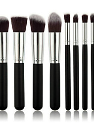 cheap -8pcs Makeup Brushes Set / Eyeshadow Brush / Blush Brush / Powder Brush Nylon Face / Eye