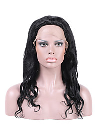 cheap -Human Hair Full Lace Lace Front Wig style Brazilian Hair Wavy Body Wave Wig 130% Density with Baby Hair Natural Hairline African American Wig 100% Hand Tied Women's Short Medium Length Long Human