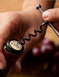 abordables -ouvre-bouteille de vin tire-bouchon porte-clés en acier inoxydable outils de plein air