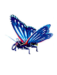 cheap -Butterfly 3D Puzzle Wooden Puzzle Paper Model Wooden Model Paper Kid's Adults' Toy Gift