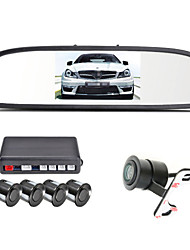 cheap -4.3 inch LCD 4 pcs Reversing Radar Kit for Car