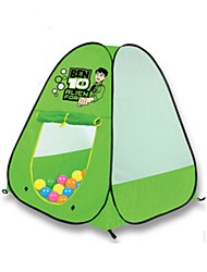 cheap -Play Tent & Tunnel Ball Pool Playhouse Tent Cartoon Foldable Convenient Parent-Child Interaction Polyester Indoor Outdoor Spring Summer Fall Pop Up Indoor/Outdoor Playhouse for Boys and Girls