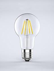 cheap -KWB 1pc LED Filament Bulbs 400 lm E26 / E27 A60(A19) 4 LED Beads COB Waterproof Decorative Warm White Cold White 220-240 V / 1 pc / RoHS