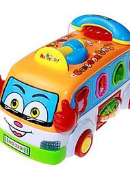 Недорогие -строительные блоки из пластика для детей старше 3 игрушка головоломки