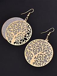 cheap -Women's Drop Earrings Ladies Fashion Earrings Jewelry Black / Gold / Silver For